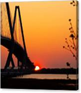 At The End Of The Bridge Canvas Print