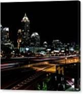 Atlanta Expressway Canvas Print