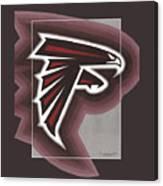 Atlanta Falcons Logo T-shirt Canvas Print