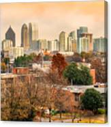 Atlanta - Georgia - Usa Canvas Print