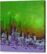 Atlanta Skyline 4 Canvas Print