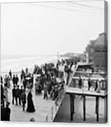 Atlantic City: Boardwalk Canvas Print