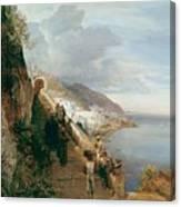 Aufgang Zum Kloster  Canvas Print