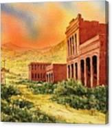 Aurora Ghost Town Nevada Canvas Print