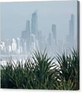 Australia - Surf Mist Shrouds Our View Canvas Print