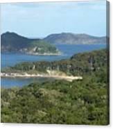 Australia - Broken Bay's Lion Island Canvas Print