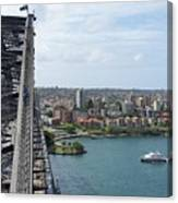 Australia - Kirribilli And Sydney Harbour Bridge Canvas Print