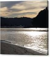 Australia - Sun Glistens On Umina Beach Canvas Print