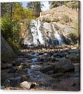 Autumn At Helen Hunt Falls Colorado Canvas Print