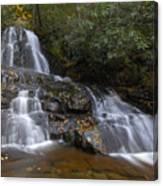 Autumn At Laurel Falls Canvas Print