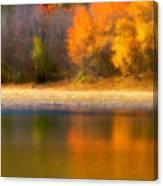 Autumn At Sawmill Lake Canvas Print