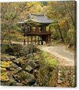 Autumn At Seonamsa Canvas Print