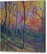 Autumn Hillside Canvas Print