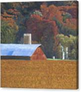 Autumn Of Our Father's Canvas Print