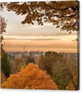 Autumn On The Hill Canvas Print