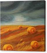 Autumn Storm Canvas Print