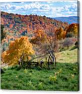 Autumn This Side Of Heaven Canvas Print