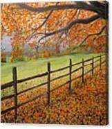 Autumn Vista Virginia Canvas Print