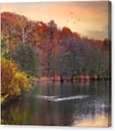 Autumn's Allure Canvas Print