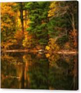 Autumns Calm Canvas Print