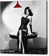 Ava Gardner Film Noir Classic The Killers 1946-2015 Canvas Print