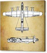 Avro Lancaster Bomber Canvas Print