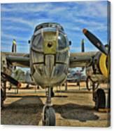 B-25 Mitchell Canvas Print