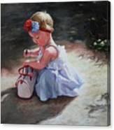 Baby Sunshine Canvas Print