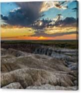 Badlands Np Wilderness Overlook 4 Canvas Print