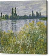 Banks Of The Seine Canvas Print