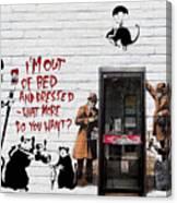 Banksy - The Tribute - Rats Canvas Print