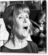 Barbara Lea, Jazz Vocalist Canvas Print