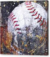 Baseball Art Version 6 Canvas Print