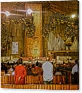 Basilica De Guadalupe 1 Canvas Print