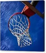 Basketball Hoop #juansilvaphotos Canvas Print
