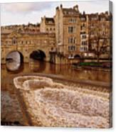 Bath England United Kingdom Uk Canvas Print