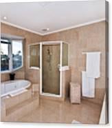 Bathroom And Spa Bath Canvas Print
