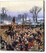 Battle Of Fredericksburg - To License For Professional Use Visit Granger.com Canvas Print