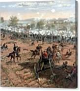 Battle Of Gettysburg Canvas Print