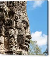 Bayon Temple, Anghor Canvas Print