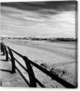 Beach At Trearddur Bay Anglesey North Wales Uk Canvas Print