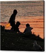 Beach Combers Canvas Print