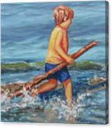 Beach Enterprise Canvas Print