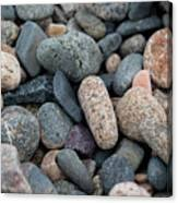 Beach Of Stones Canvas Print