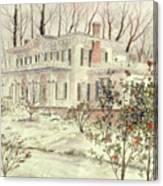 Beattie House Canvas Print