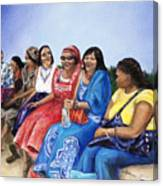 Beautiful Ladies Canvas Print