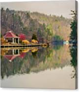 Beautiful Landscape Near Lake Lure North Carolina Canvas Print