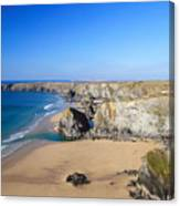 Bedruthan Steps Canvas Print