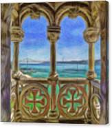 Belem Arches  Canvas Print