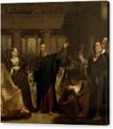 Belshazzar's Feast Canvas Print